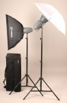 Комплект освещения Visico VL PLUS 200 Softbox Umbrella Kit