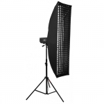 Софтбокс жаропрочный Mingxing Grid Softbox 60x200 cm