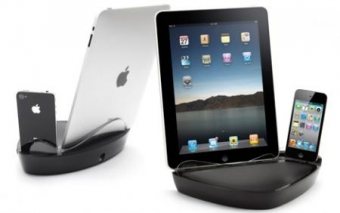Док-станция для iPhone 4/4S и iPad 3 Griffin PowerDock Dual