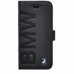 Кожаный чехол для iPhone SE/5S/5 BMW Logo Signature Booktype