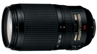 Объектив Nikon AF-S 70-300mm f/4.5-5.6G ED-IF VR Zoom-Nikkor