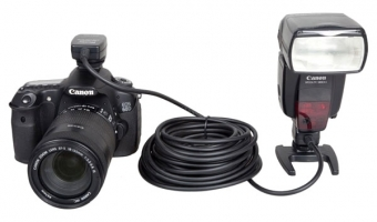 Синхрокабель Phottix TTL OC-E3 для Canon EOS (10 метров)