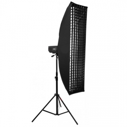 Софтбокс жаропрочный Mingxing Grid Softbox 40x180 cm