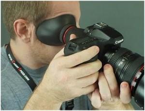 Увеличительный наглазник для фотоаппаратов
