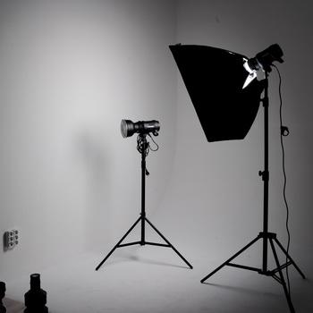 Оборудование для студийной съемки - зонты и софт-боксы