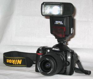 Внешняя вспышка для фотоаппаратов